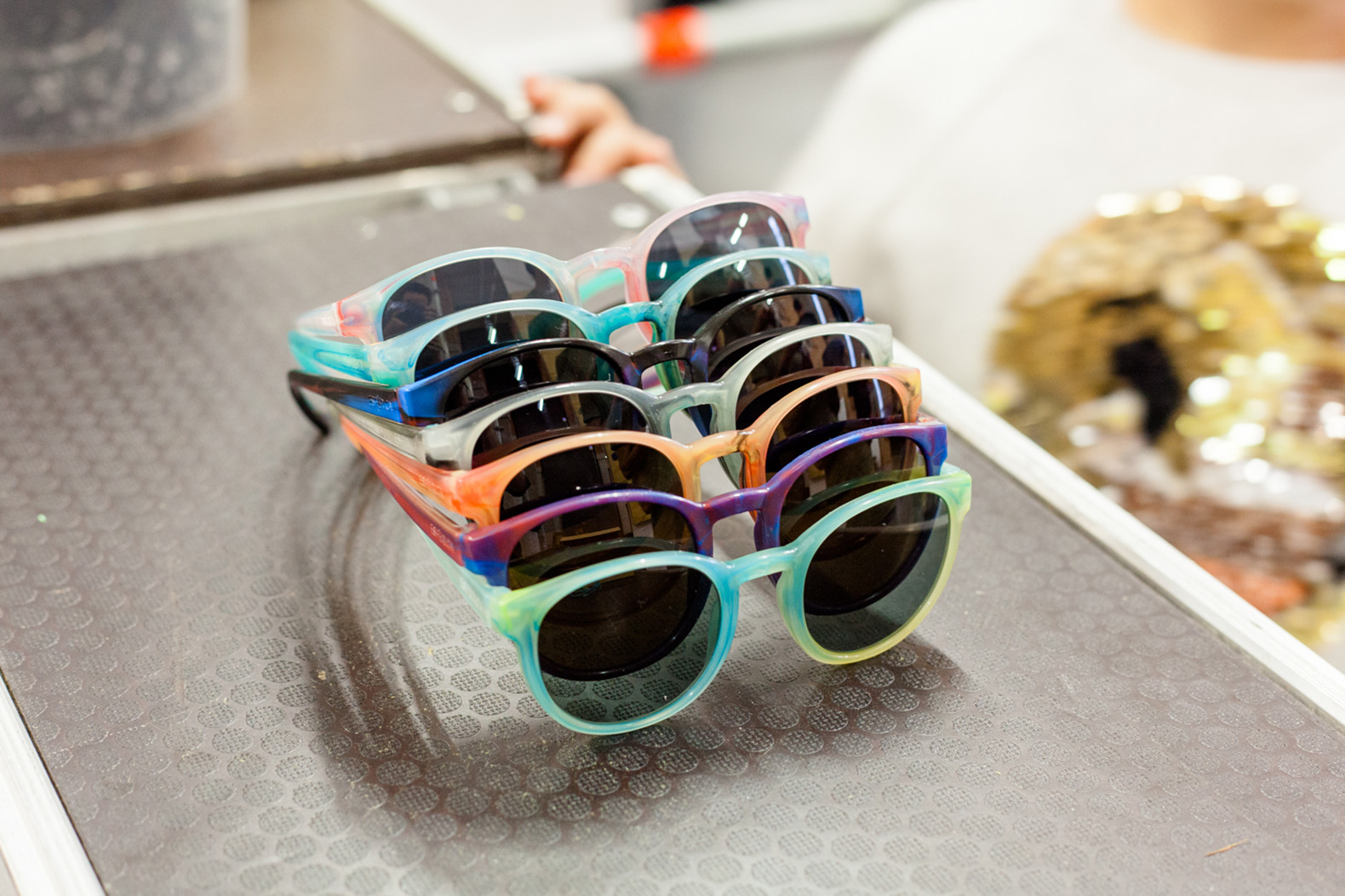 Make your own custom sunglasses from recycled plastic with FOS