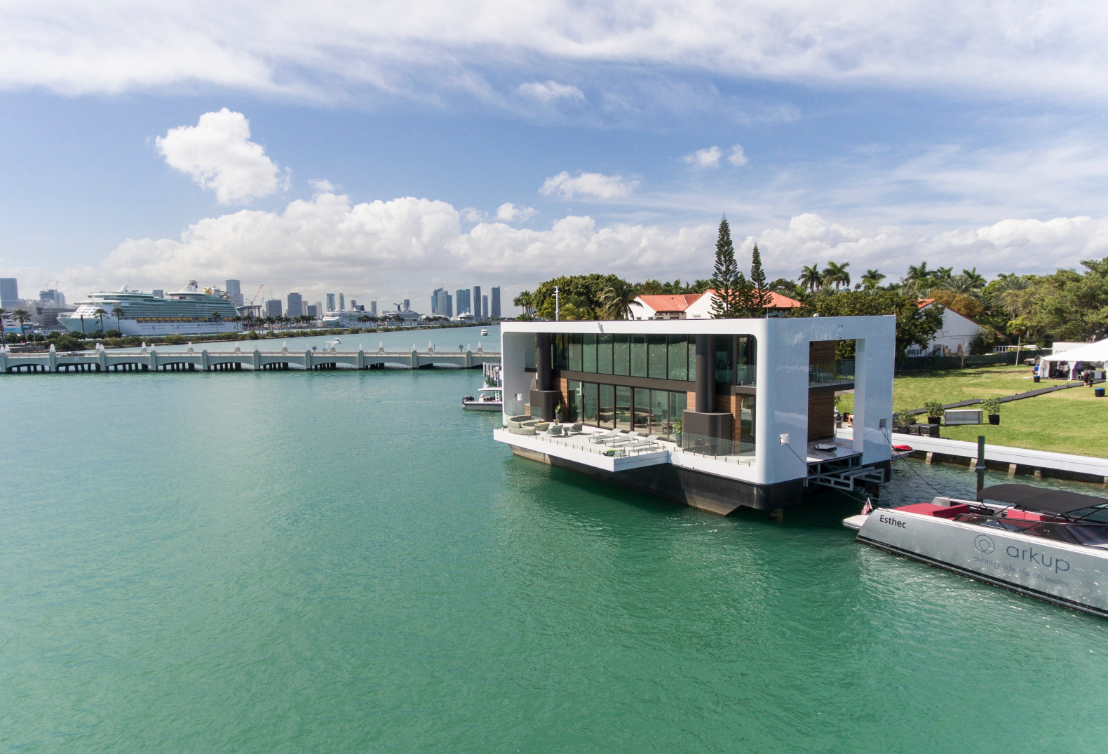 These solar-powered floating homes are built to withstand floods and hurricanes