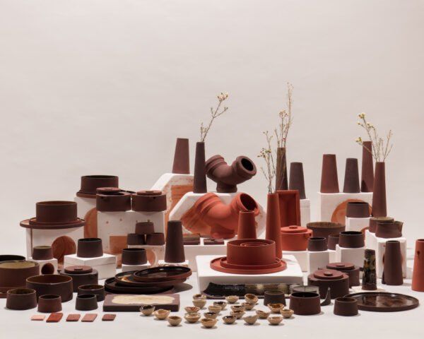 aluminum production waste transformed into ceramic decor