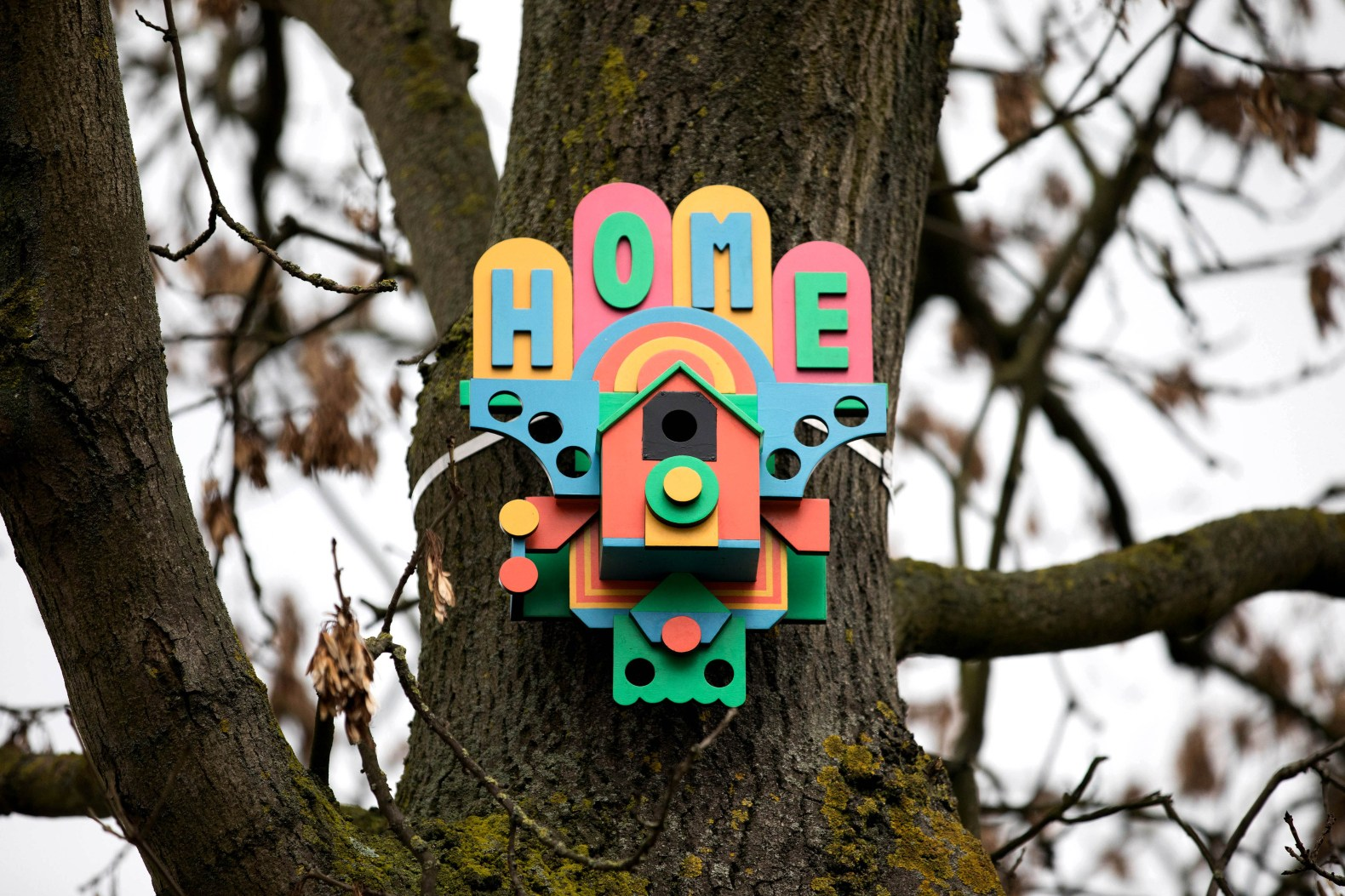 IKEA teams up with London artists to upcycle old furniture into funky abodes for birds, bees, and bats