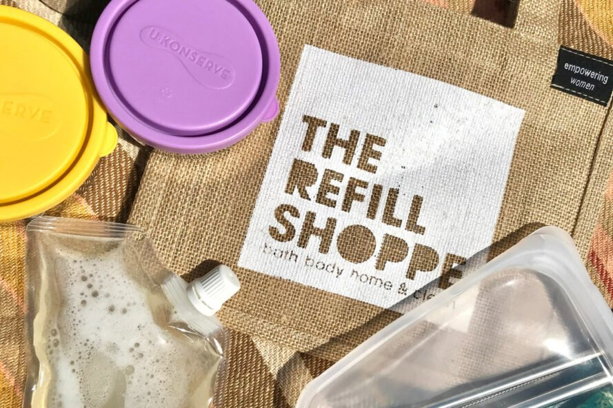 the Refill Shoppe logo