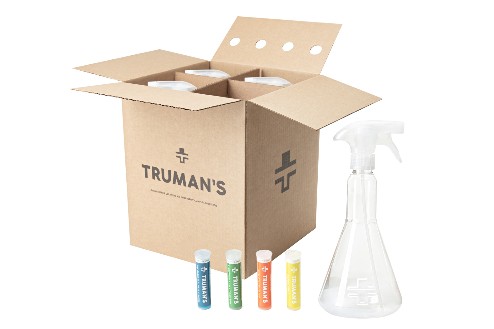 Truman's wants to eliminate single-use plastics in the household cleaner industry