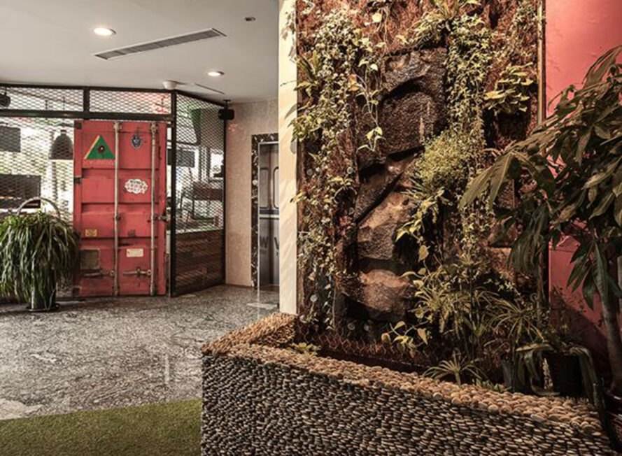 Quirky Youth Hostel In Taiwan Is Made From Reclaimed Materials