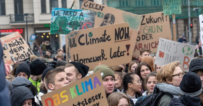 Students around the world join climate strike on March 15