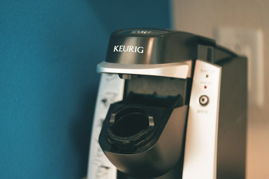 Keurig-branded coffee machine