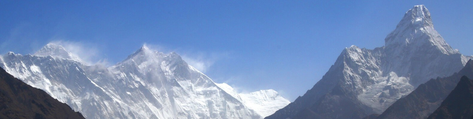 snow-covered Mount Everest