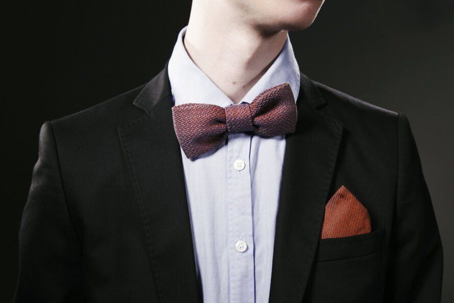 man in a bow tie and tuxedo