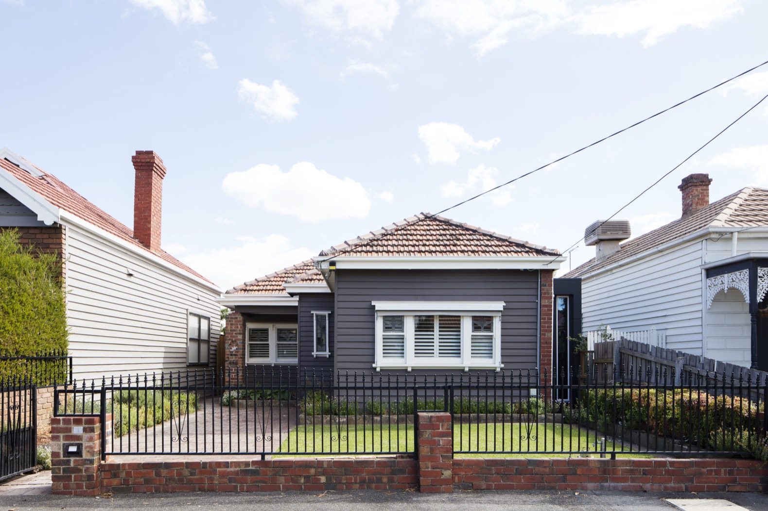 A Melbourne worker's cottage gets revamped into a solar-powered family home