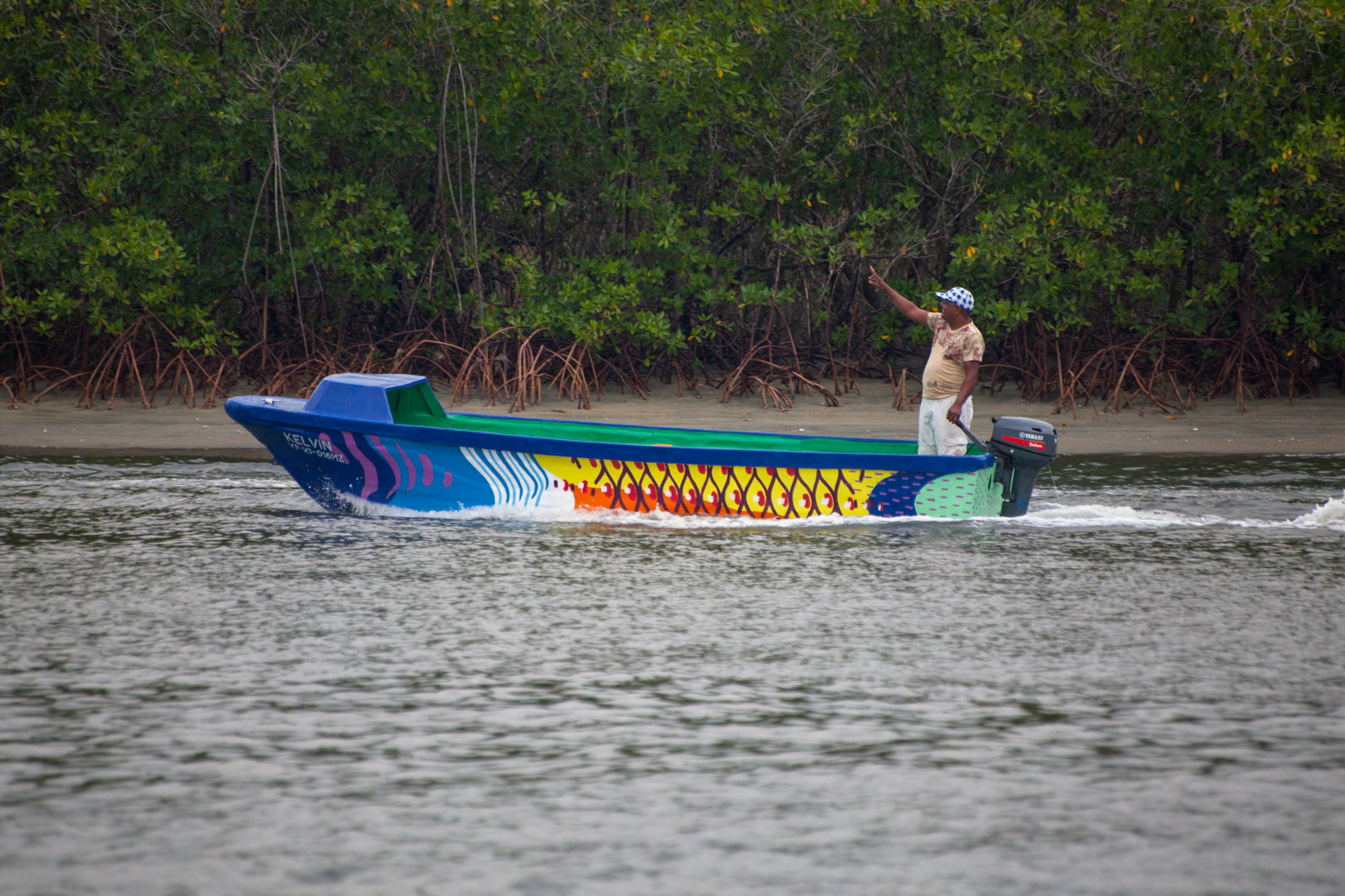 Boa Mistura turns 52 fishing boats into art to bring awareness to the plight of the parrotfish