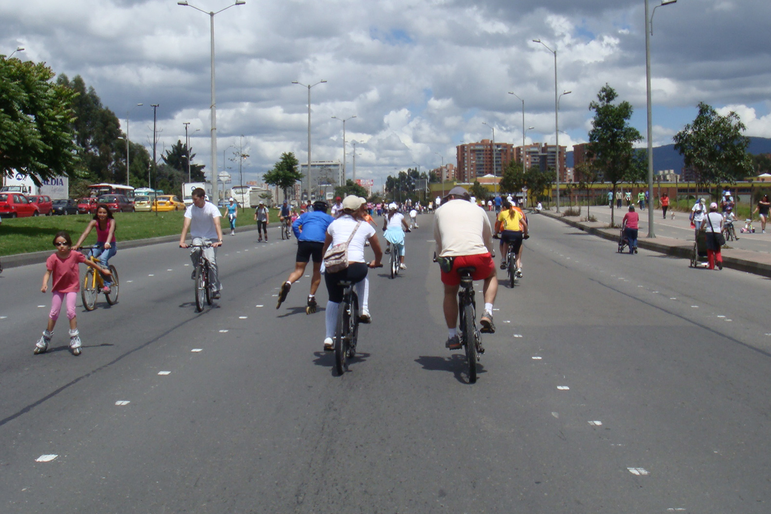 Car-free Sundays are the norm in Colombia's capital city, Bogotá