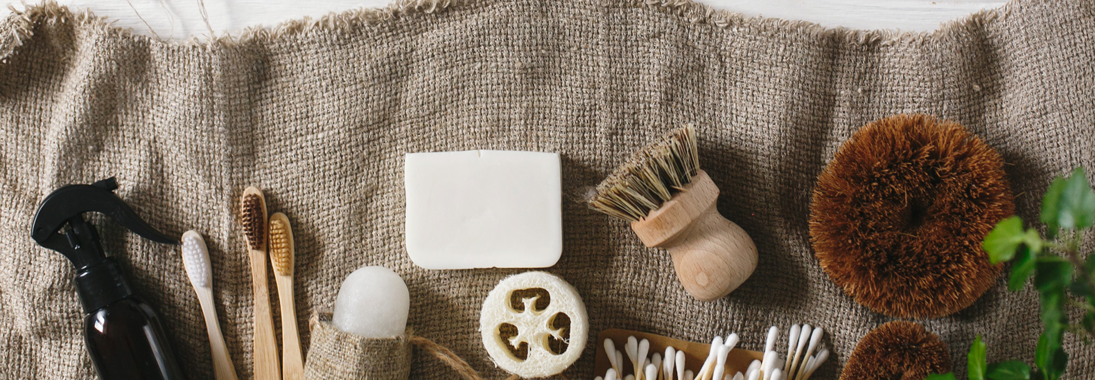 Eco-friendly replacements for common bathroom products