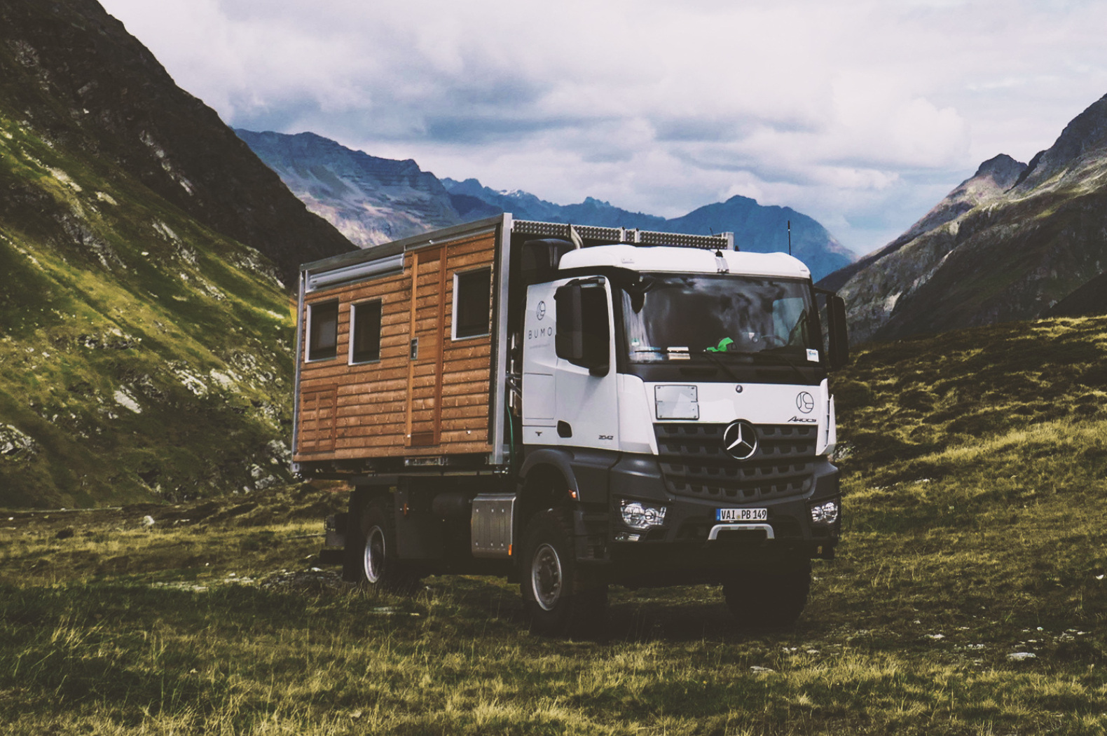 Ultra-rugged, off-grid motorhome is built to go just about anywhere