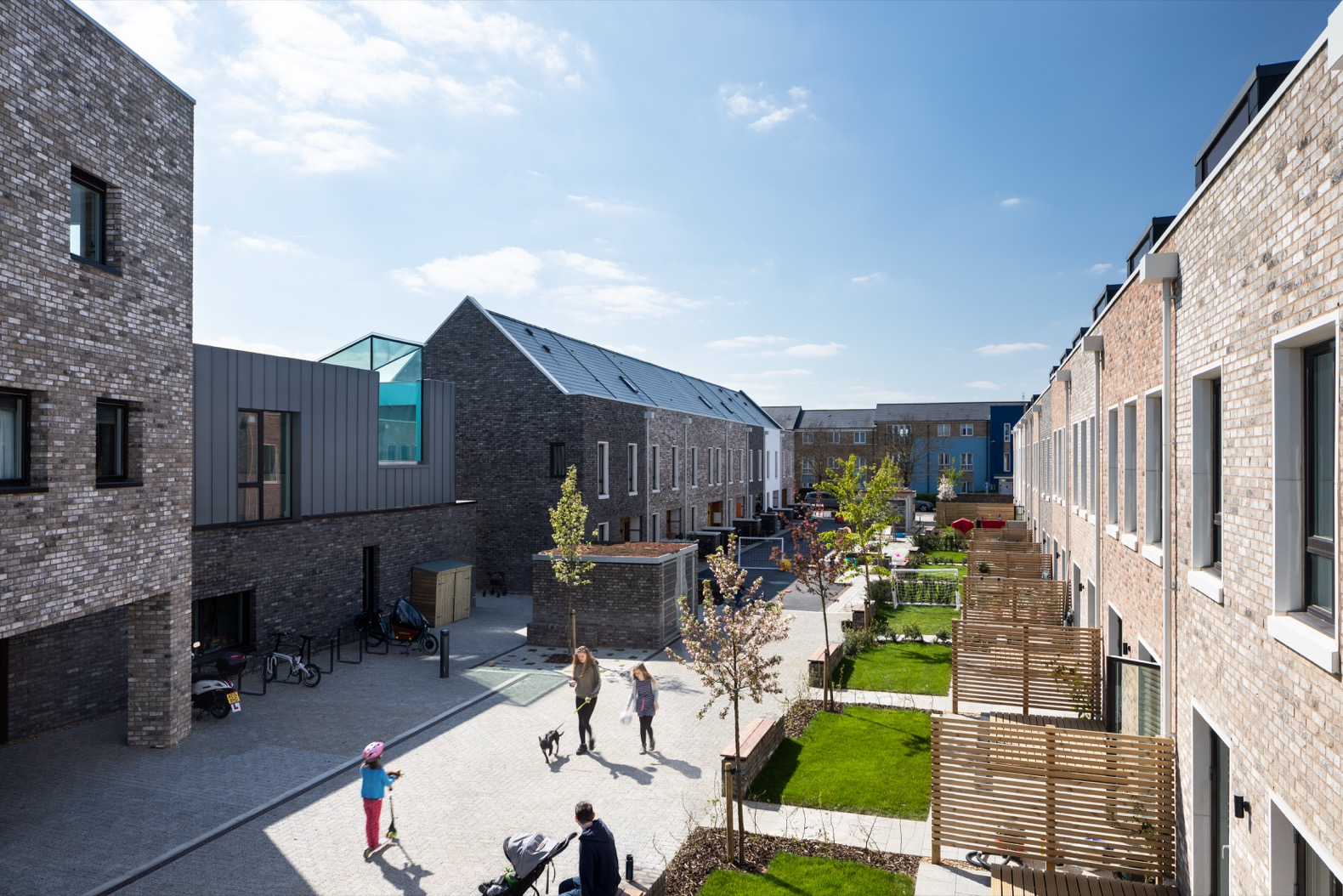 Cambridge's first co-housing development fosters sustainable living