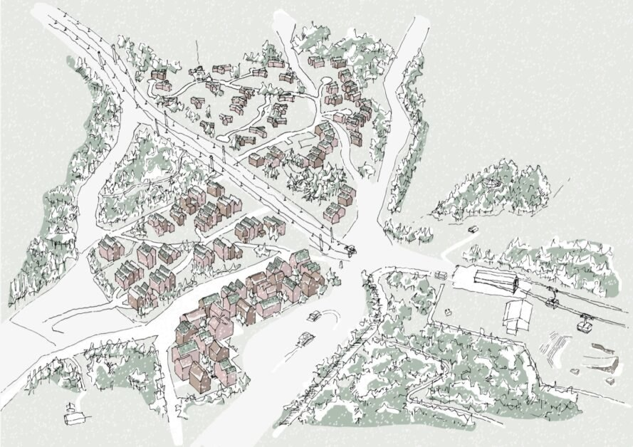 map of building site