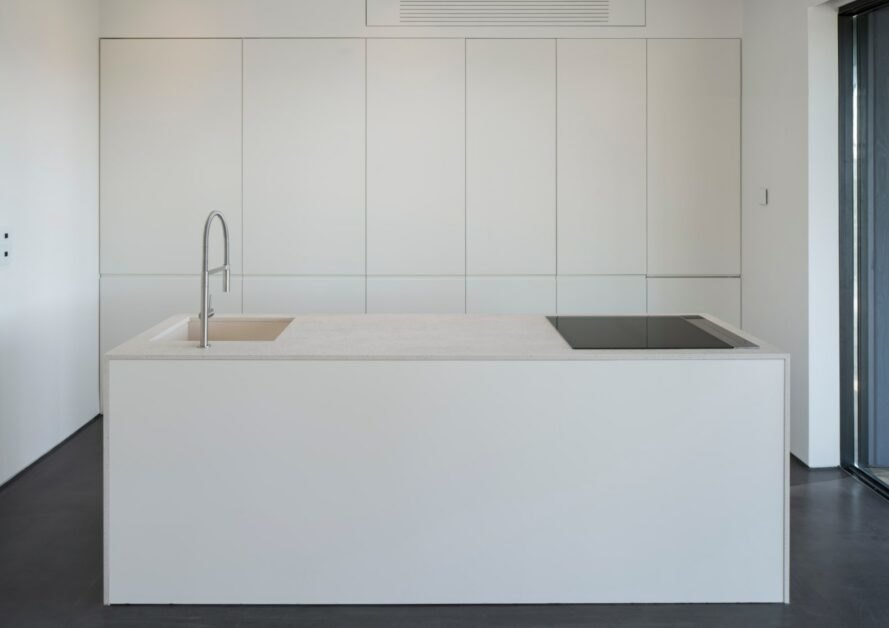 white contemporary kitchen