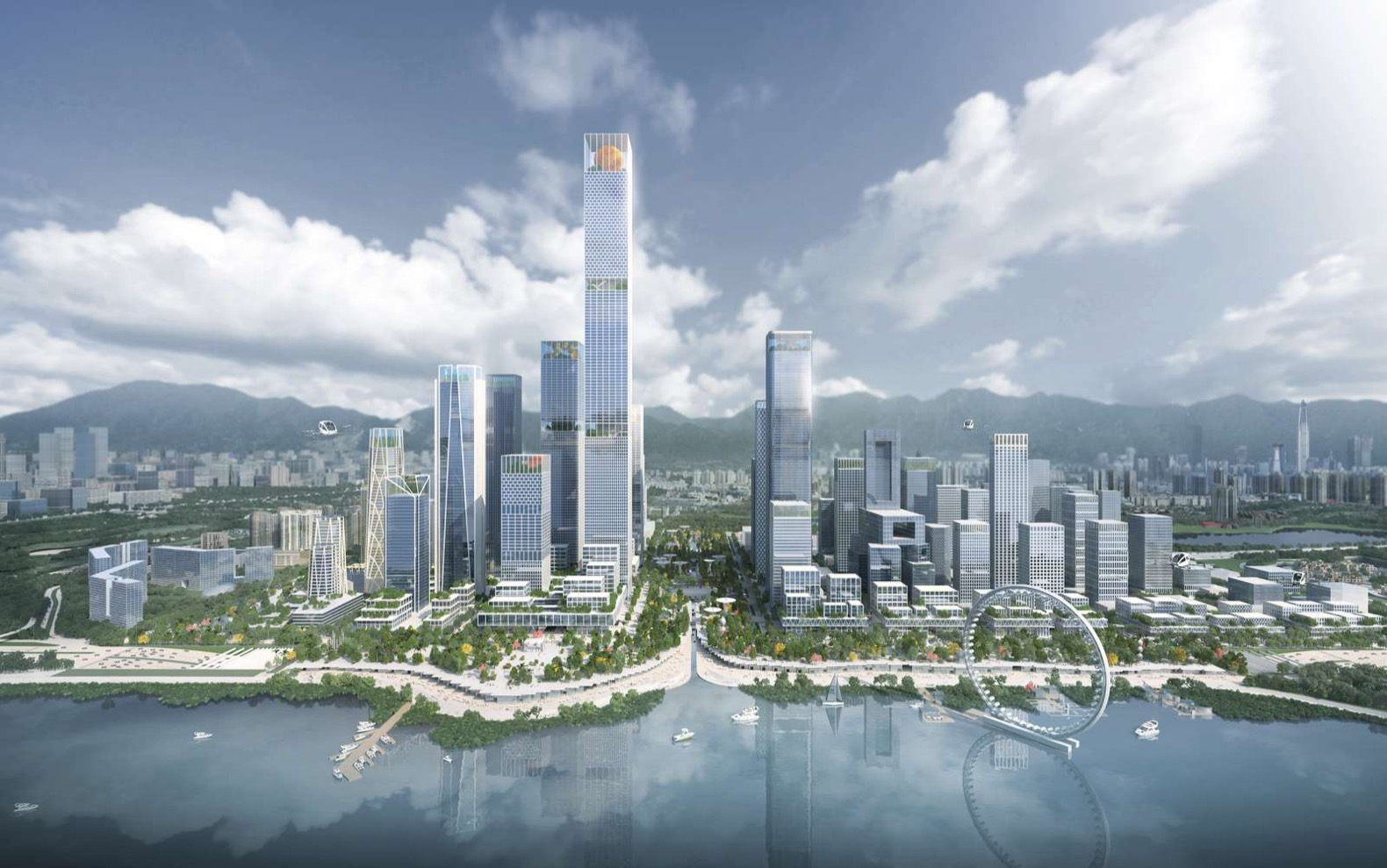 Henning Larsen wins bid to design a sustainable business district for Shenzhen