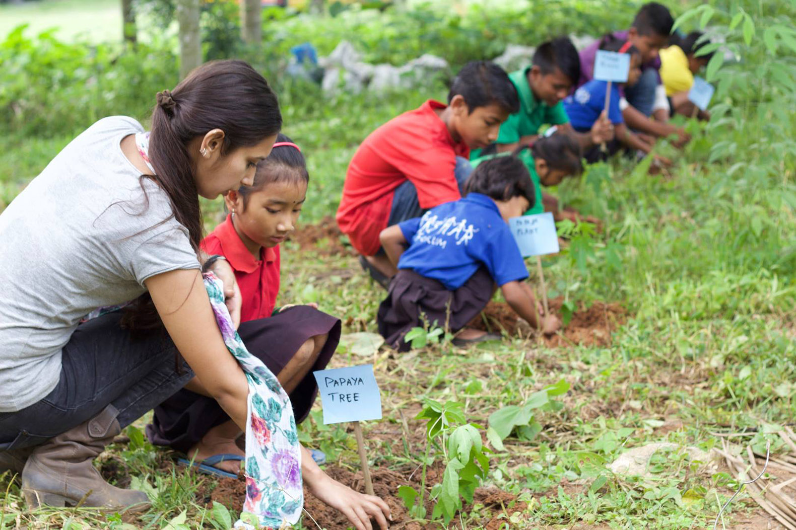 The Akshar Foundation is creating sustainable schools to teach children important life skills