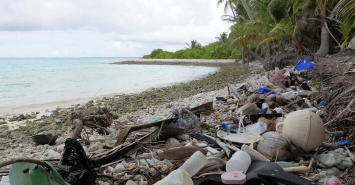 photo of Even the most remote islands are victims of plastic pollution image