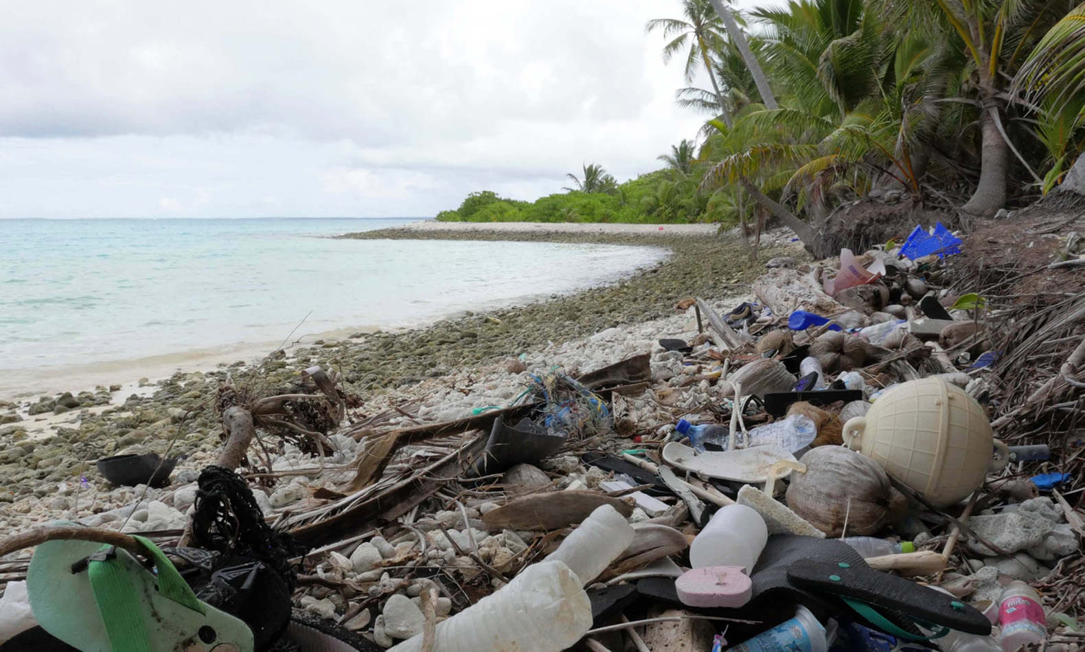 Even the most remote islands are victims of plastic pollution