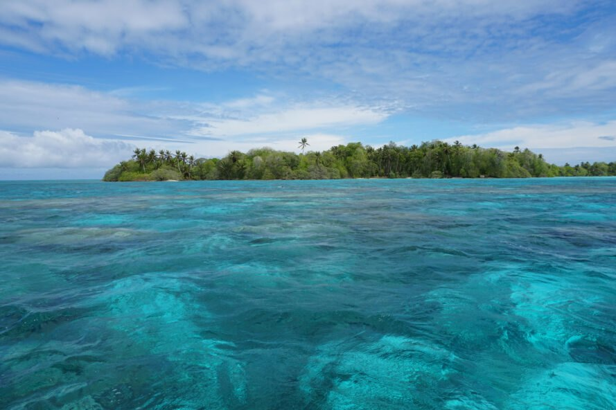 waters of Palmyra Atoll