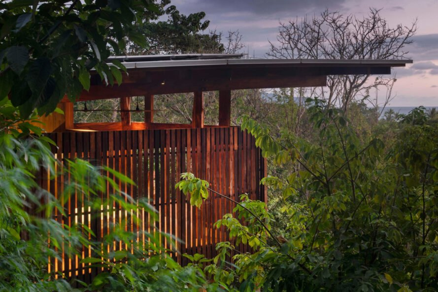 This Costa Rican Treehouse Is Built Entirely Out Of Locally