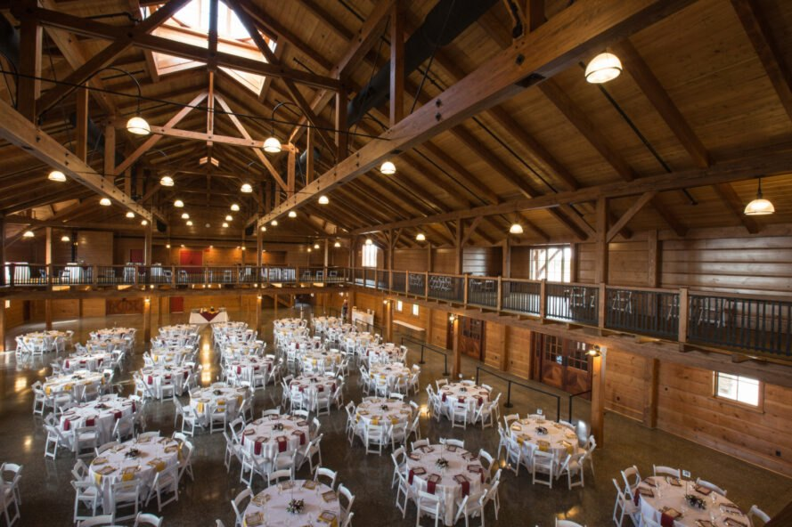 Events Center In Pennsylvania Built From Eco Friendly Timber