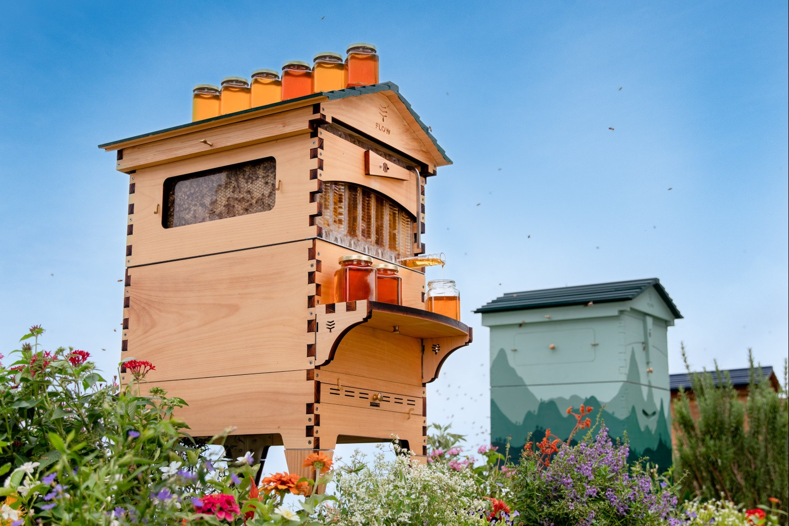 Flow Hive Takes The Hassle Out Of Honey Harvesting