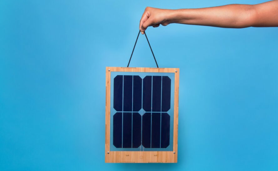 Innovative Window Solar Charger Is Designed For Apartment
