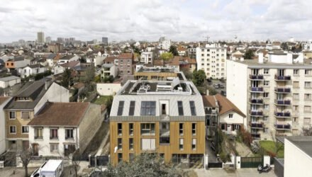 Benjamin Fleury creates affordable, modern apartments with a low-energy footprint in Paris...