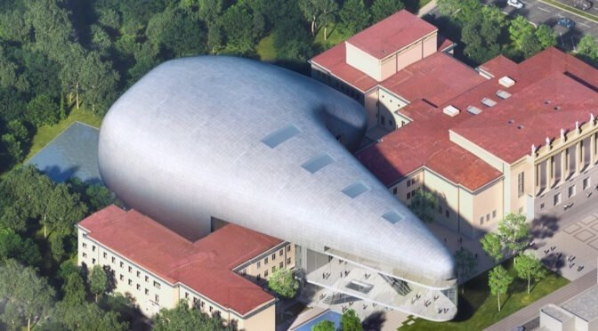 Steven Holl's new solar-powered concert hall plays up the dramatic