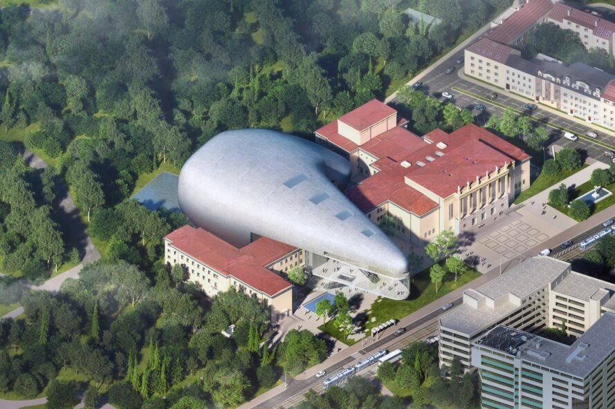 Steven Holl's new solar-powered concert hall plays up the