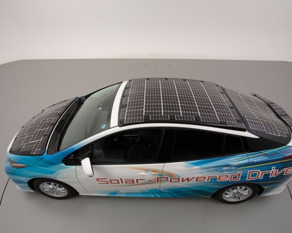 Toyota is testing a new Prius model that runs on solar power