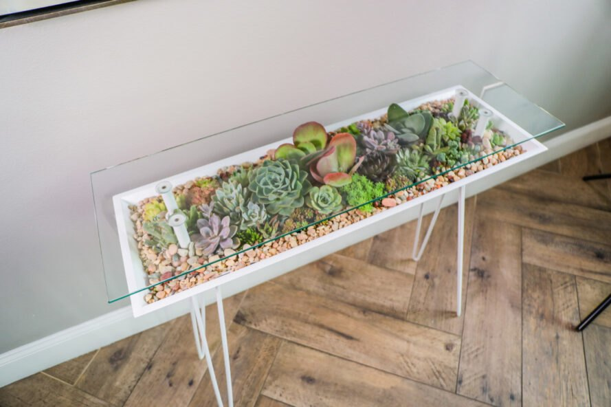 Bloomingtables offers a living table that 39 s furniture Table terrarium