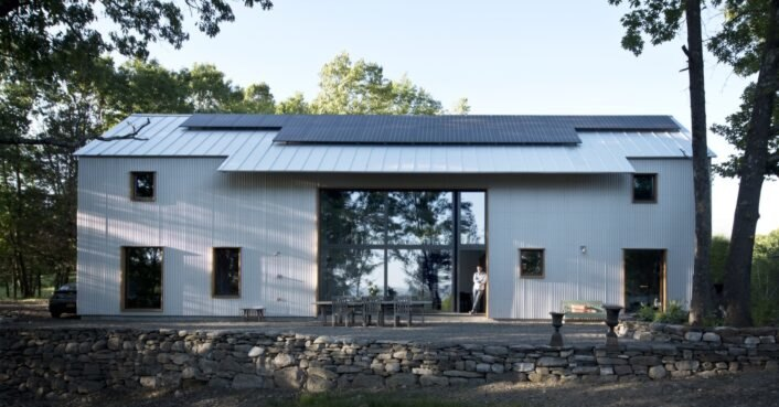 photo of Certified Passive House in New York generates all of its own energy image