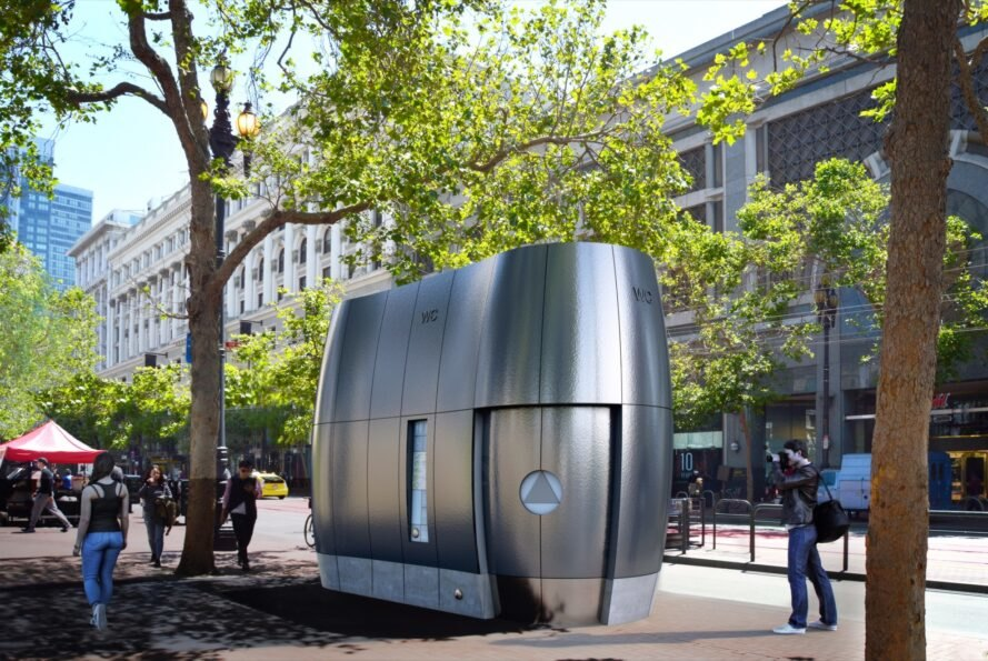 High-tech public toilets proposed for San Francisco can recycle