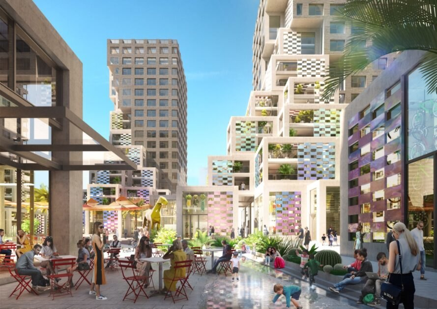 MVRDV breaks ground on Pixel, a mixed-use development that embraces