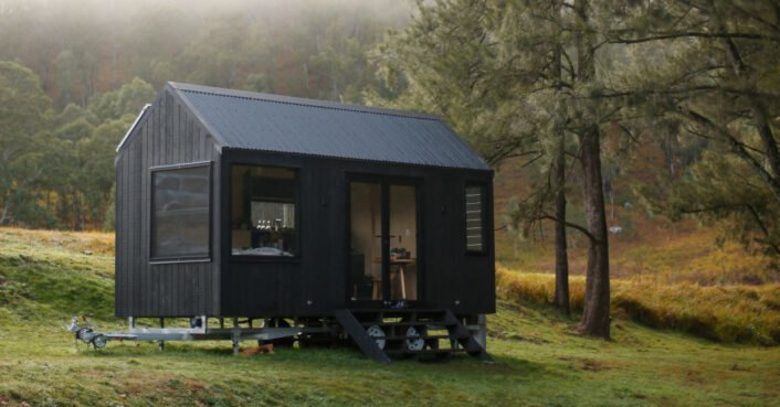 This off-grid tiny cabin in the Australian wilderness is just what