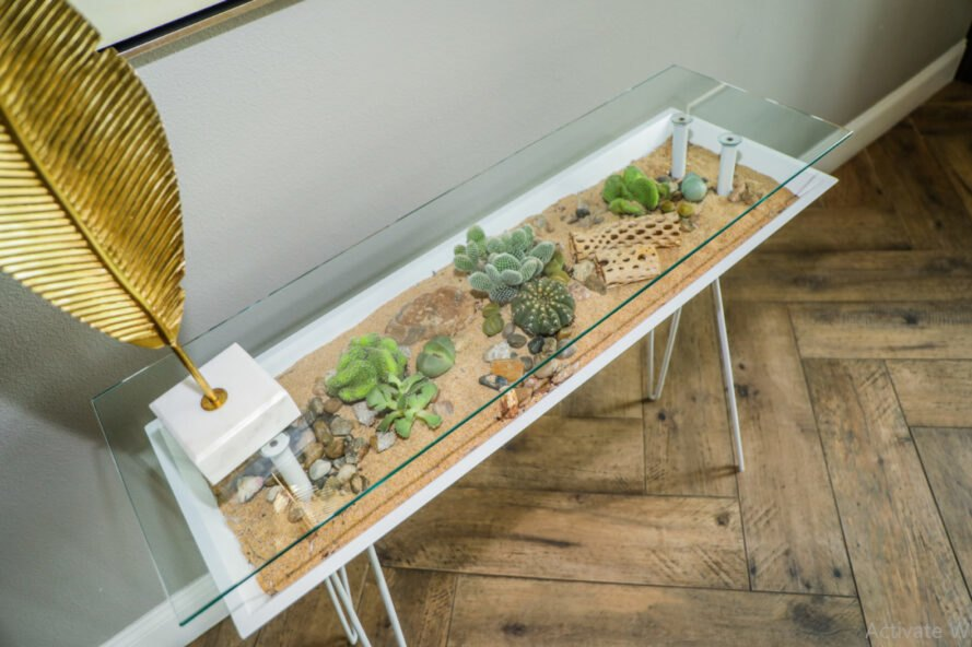 """BloomingTables offers a """"living table"""" that's furniture and a terrarium all in one"""
