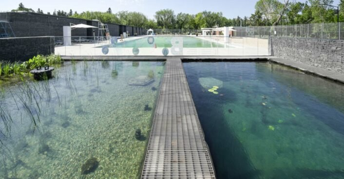 Canada unveils its first chemical-free public outdoor pool and it's gorgeous