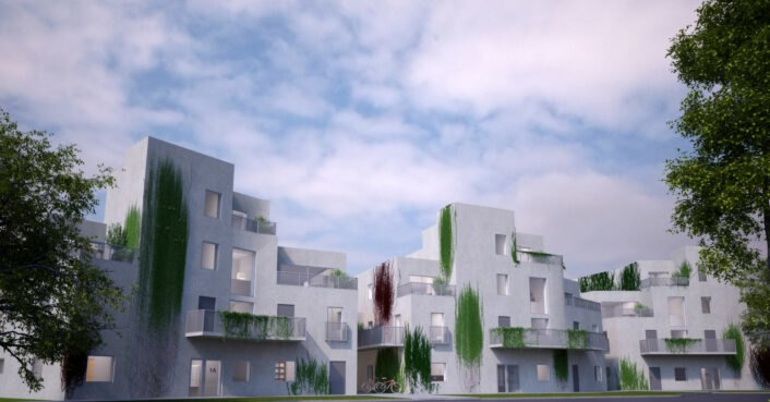 Apartment complex will be infused with vegetation to create a vibrant 'garden city'