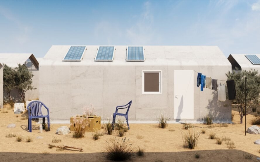 "Cutwork proposes innovative ""just add water"" housing for"