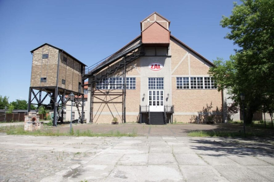 pitched roof industrial building