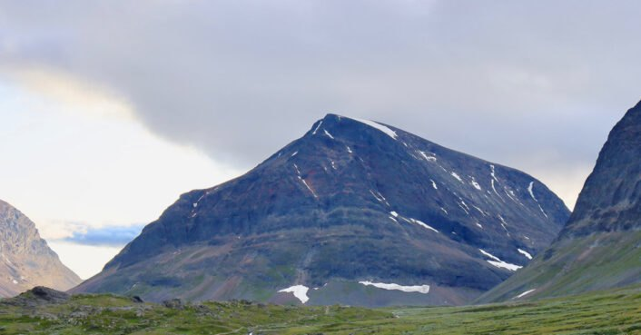 Mountain in Sweden loses highest peak title as global warming