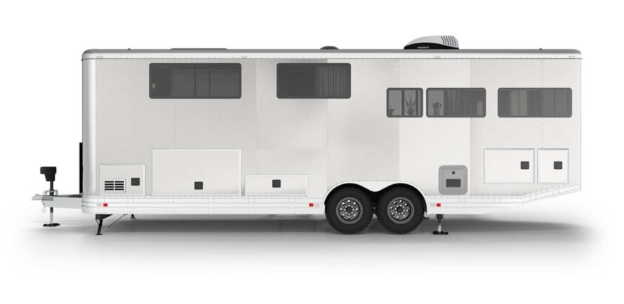 long white rv rendering