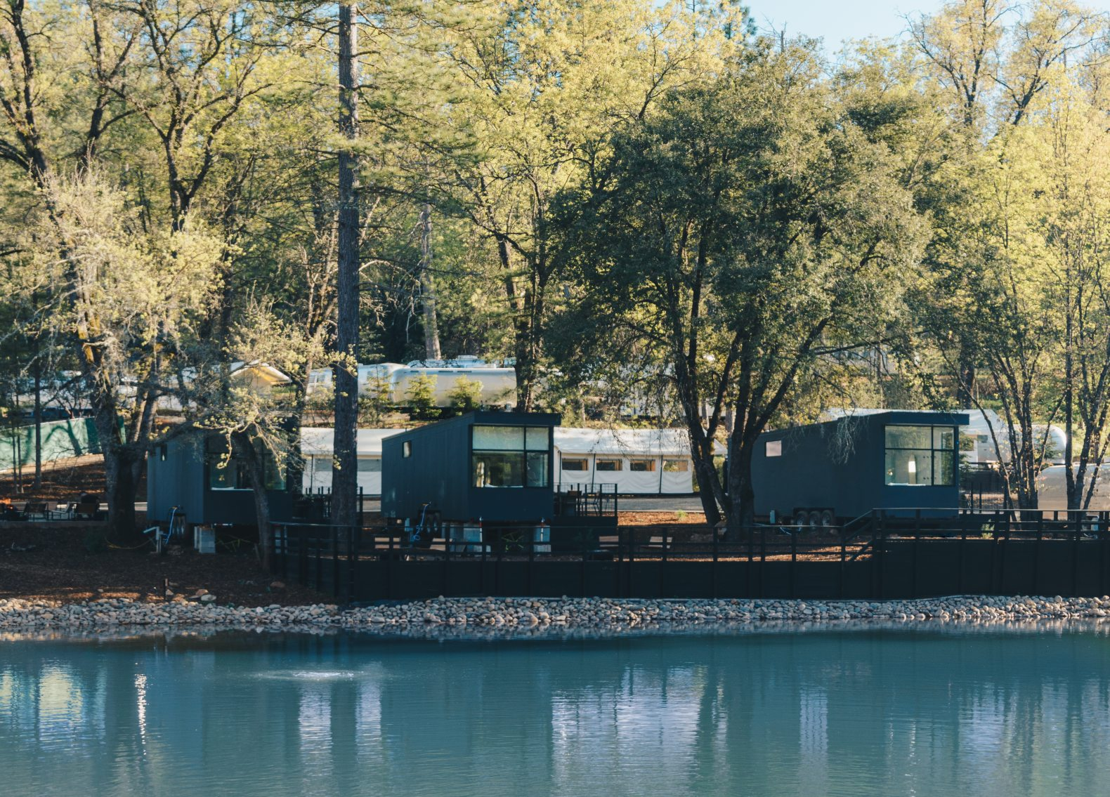Yosemite camping site unveils series of ADA-compliant tiny cabins