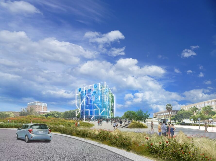 Ecosistema Urbano designs a digitally integrated eco-campus for the