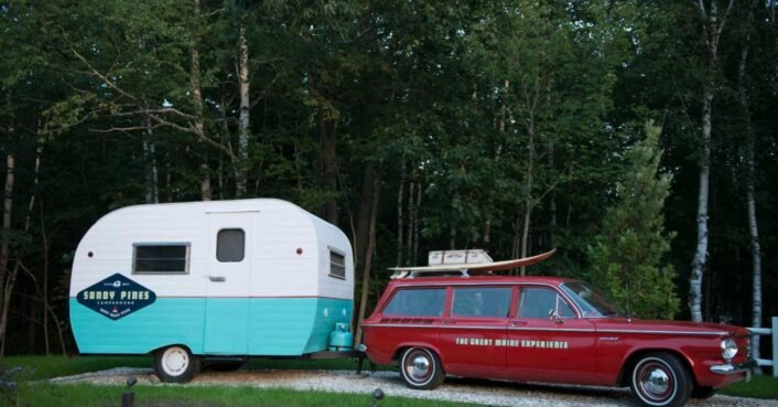 Kennebunkport campground offers tiny cabins, Airstreams and more