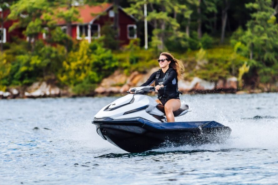 Taiga launches Orca, a 100% electric jet ski with a two-hour
