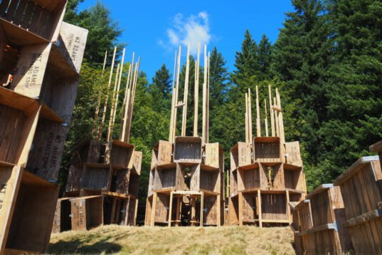 Architecture Students Help Build This Temporary Music