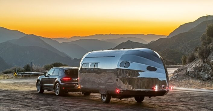 These ultra-cool, vintage-style travel trailers can go off the grid for a week